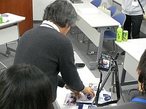福田カメラマンによる撮影ワークショップ